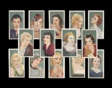 cigarette cards 1934 Film Favourite set